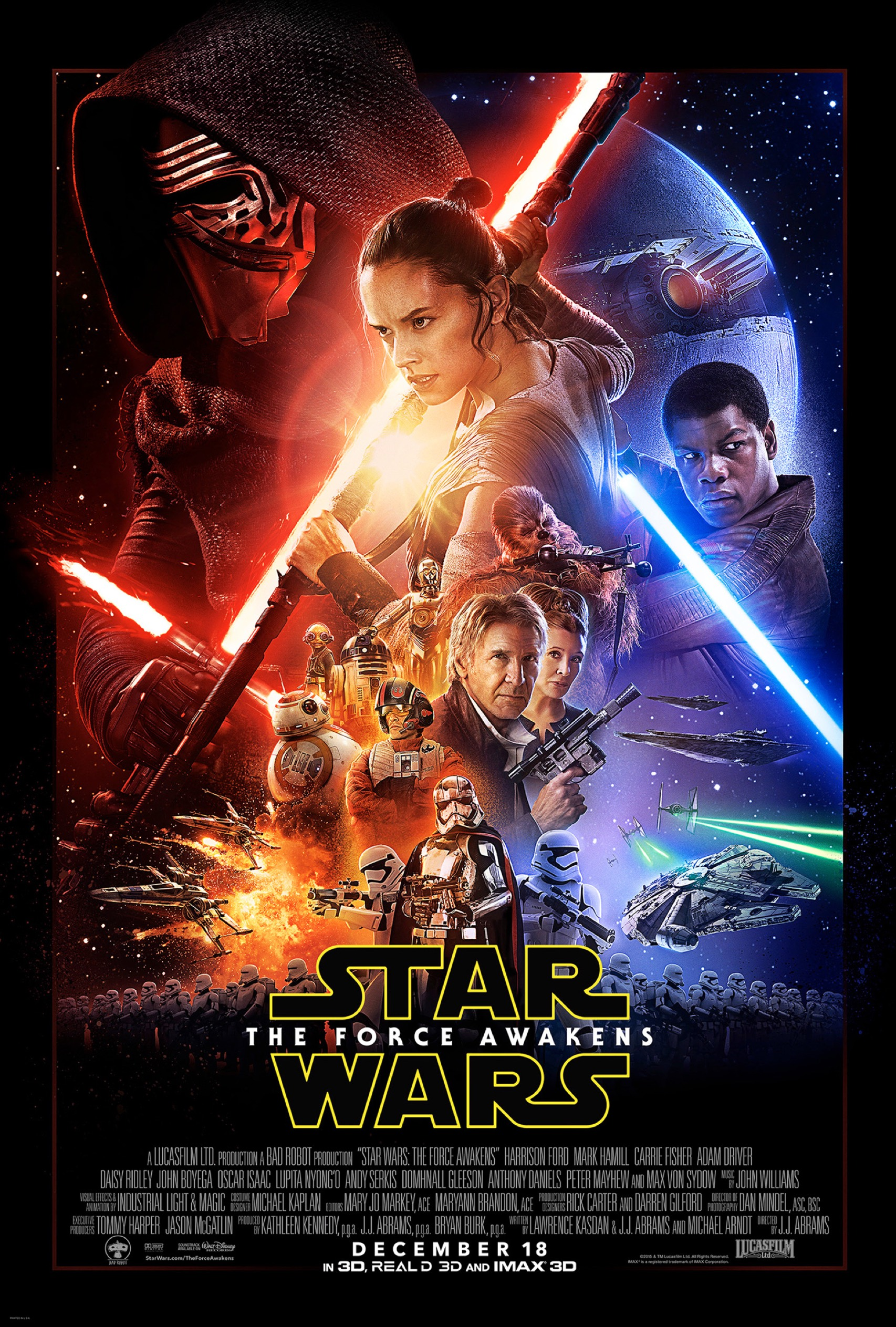 why the star wars: the force awakens poster is disappointing